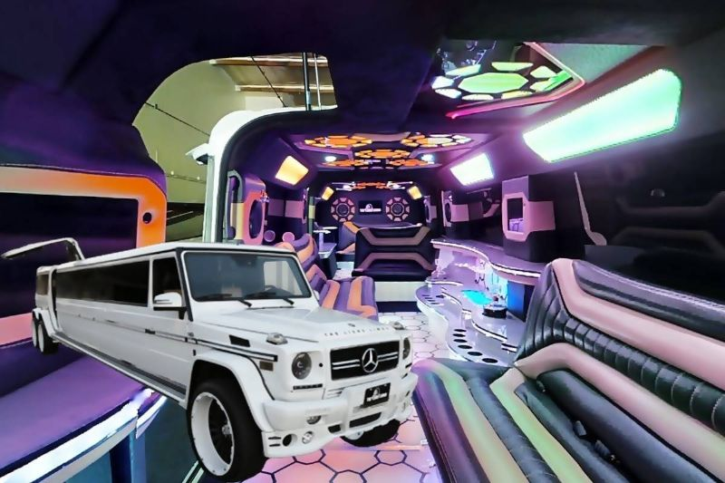 Mercedes G Class Limo